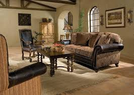 Katherine LeatherFabric Sofa LF King Hickory Array From - Hickory leather sofa