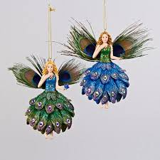 Pack Of Blue Christmas Decorations by Cheap Peacock Christmas Ornaments Find Peacock Christmas