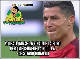 Memes De Ronaldo - los memes de la lesión de cristiano ronaldo futbol total