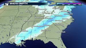 Snow Coverage Map You Probably Won U0027t See A Map Like This One For A Long Time
