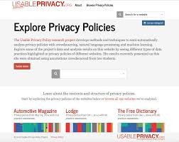 Privacy Policy How Can We Visualize And Compare Legal Policies Two Models From