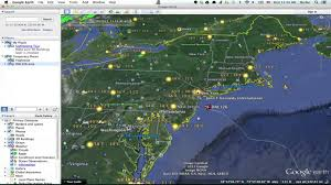 Google Map Virginia by How To Track Flight Paths In Google Earth Google U0026 Internet