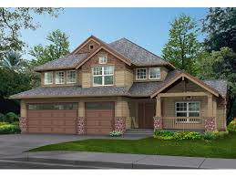 Two Story Craftsman House Plans Powderhorn Pass Rustic Home Plan 071d 0077 House Plans And More