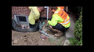 how to replace window well and drains by aquaseal 1 888 750 0848