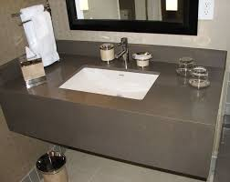 Bathroom Vanity Counters Quarzt Cement Grey Vanity Top With Skirt Vanity Tops Pinterest