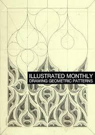drawing geometric patterns illustrated monthly