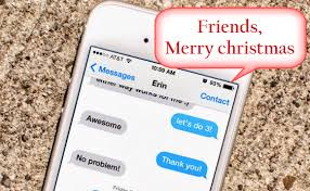 easily send merry messages to mulitiple contacts