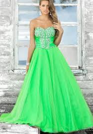 strapless sweetheart ball gown long prom dress