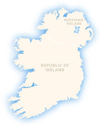 Map Of Ireland And England Ireland Outline Map Royalty Free Editable Vector Map Maproom