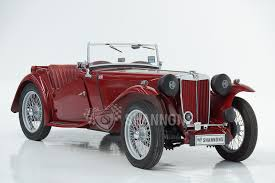 sold mg tc roadster auctions lot 7 shannons