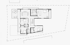 modern floor plan second floor plan of modern house with many open areas home