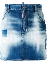 light wash denim skirt 450 dsquared2 light wash denim skirt buy online fast delivery