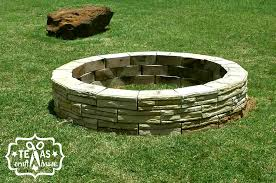 How To Build Your Own Firepit Build Your Own Pit Craft House