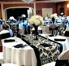 black and white table settings black and white table setting ideas here are black and white table