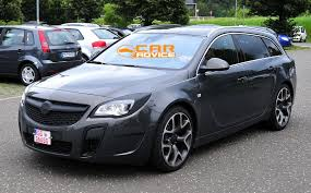 opel insignia wagon trunk opel insignia opc wagon spied photos 1 of 6