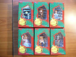 wizard of oz set of 6 effanbee ornament ornaments