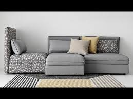 ikea sectional sofa bed youtube
