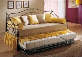 divanetto letto singolo divano letto in ferro battuto singolo cecilia arredamenti cioni
