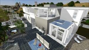 sims 3 modern california house on hill downloadable youtube
