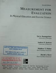 measurement for evaluation in physical education and exercise