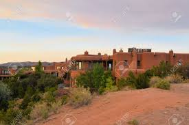 new mexico house house in architecture typical for native new mexico in the old