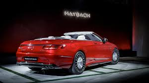 maybach sports car mercedes maybach s650 cabriolet luxury cars tv