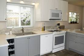 kitchen style color combination kitchen white and grey cabinets