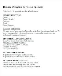 resume career objective resume career objective exles for students fresher templates