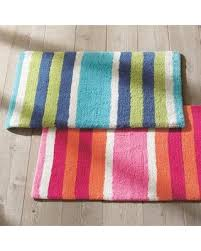 Orange Bathroom Rugs with Hello Holidays 66 Off Multi Stripe Bath Rug Pink Orange 21