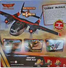 mattel disney planes fire u0026 rescue cabbie mchale transporter