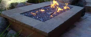 Fire Pit With Lava Rocks - fire pit lava rock stones fire pit simple design low above ground
