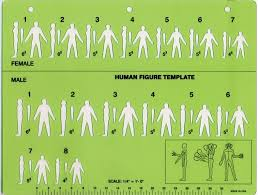 human figure sketching template crime scene investigation