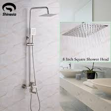 8 Inch Faucet Bathroom by Brushed Nickel 8 Inch Shower Head Bathroom Shower Faucet Bathtub