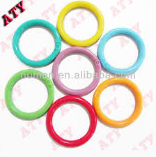 plastic rings large images New colorful plastic jump ring buy rubber jump rings plastic jpg