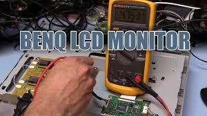 sdgee 015 benq lcd monitor teardown and repair youtube