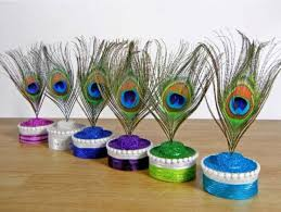 Peacock Centerpieces Awesome Peacock Wedding Ideas Bride And Celebrations Pinterest