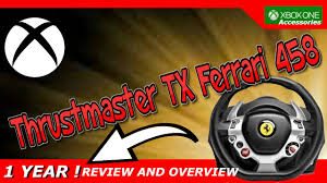 thrustmaster 458 review thrustmaster tx racing wheel 458 italia edition xbox one
