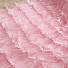 curtains amazing pink ruffle curtains 7 homey ruffle curtains