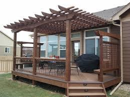 pergola design marvelous backyard patio pergola designs deck
