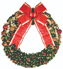 decorated wreaths expert outdoor lighting advice