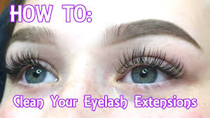 Do Eyelash Extensions Ruin Your Natural Eyelashes Eyelash Extensions How To Clean Your Face U0026 Remove Your Makeup