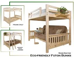 nice futon bunk bed wood details about twin xl over full xl futon