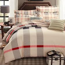 Plaid Bedding Set Bedroom Mainstays Blue Plaid Bed In A Bag Complete Bedding Set