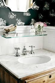 shelf above bathroom sink romantic cottage bathrooms cottage bathroom
