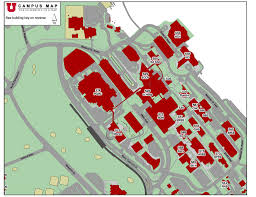 University Of Utah Campus Map by The University Of Utah Maplets