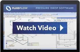 fluidflow pipe flow pressure drop software