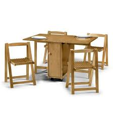 folding dining table and chairs facil furniture