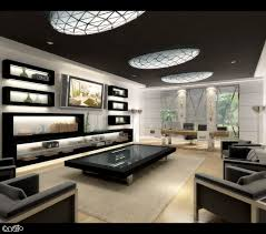 interior gorgeous black white color home theater room feature