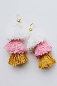 earrings diy diy tassel earrings a pair a spare