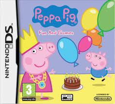 peppa pig fun games nintendo ds amazon uk pc u0026 video games